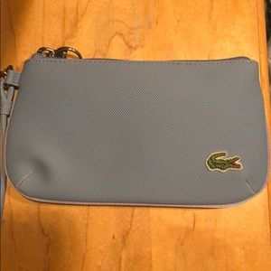 Handbags - Light blue Lacoste wristlet